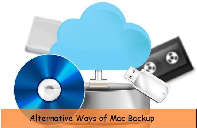 Alternate ways to take backup on Mac OS X EI Capitan, Yosemite