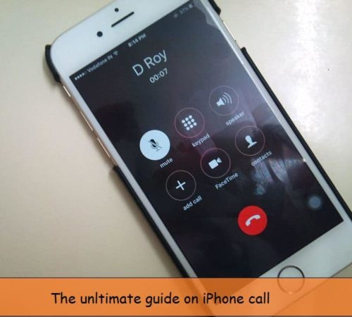 iPhone Call hold during call in iOS 9