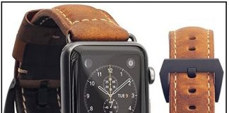 top Apple Watch Replacement leather band 2016