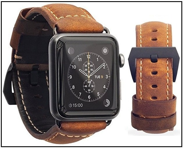 Best Italian Leather Band for Apple Watch 2016