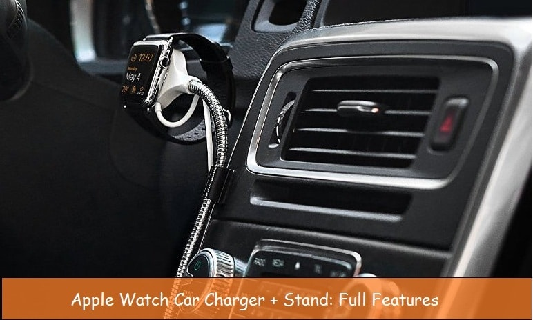 Portable car charger for Apple watch