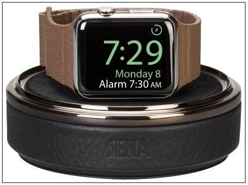 Apple Watch leather Travel Case Best Apple Watch Charging Case