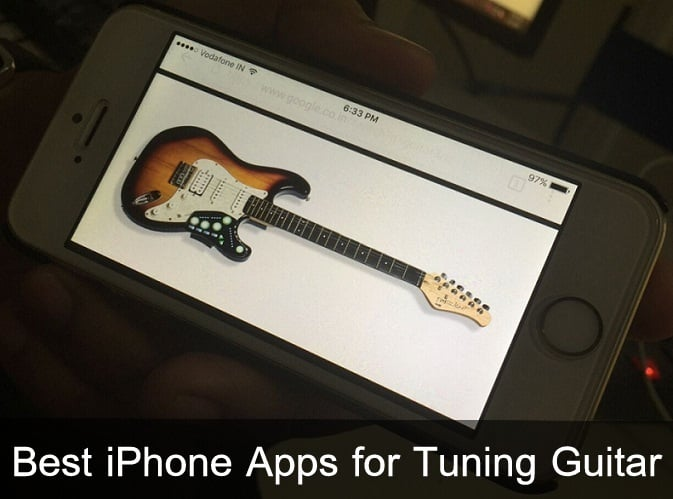 Best iPhone Apps for Tuning Guitar 2016