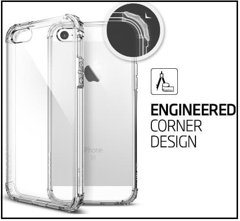 Spigen iPhone SE Clear Case