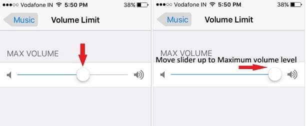 Maximum Volume level