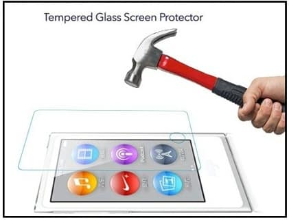 Best iPod Nano 8th Generation Tempered Glass Screen Protector