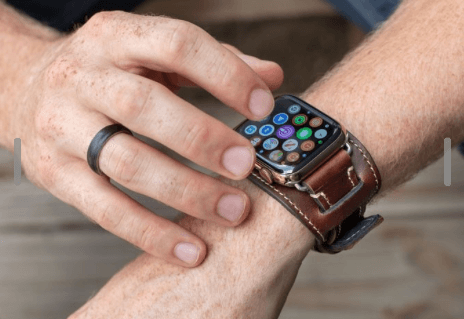 Lowry Cuff Apple Watch Band from Italian Leather