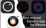 Best manual Camera App for iPhone