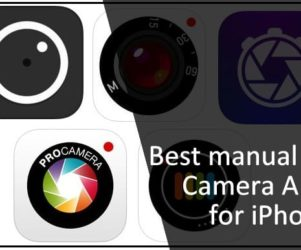 Best manual Camera App for iPhone