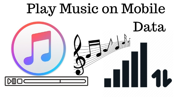 Play Apple Music on Mobile Data on iPhone