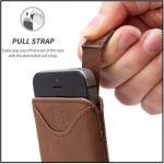 Best iPhone SE leather Sleeve /Pouch: Compatible iPhone 5S/5