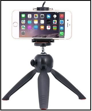promo code e7a79 776af Best iPhone 6S/7/8 Plus Tripod Mount Holder:Supports All iPhones