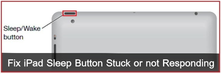 How to Fix iPad Sleep Button Stuck  ipad Air, iPad Mini, iPad Pro