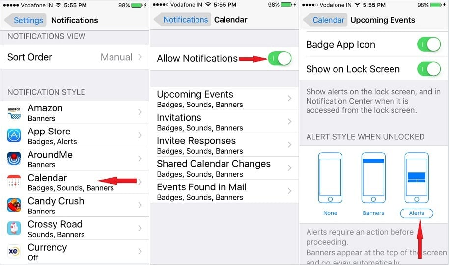 Solved] 5 Fixes iPhone Calendar Alerts Not Working:Troubleshooting 2019