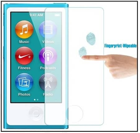 Glass Screen protector for iPod Nano 7th Gen