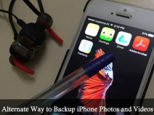 Alternate Way to Backup iPhone Photos and Videos: Online Sotrage