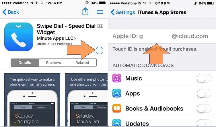 Too long wait on app start download