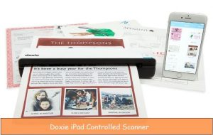 Best iPad controlled WiFi scanner: Scan document remotely