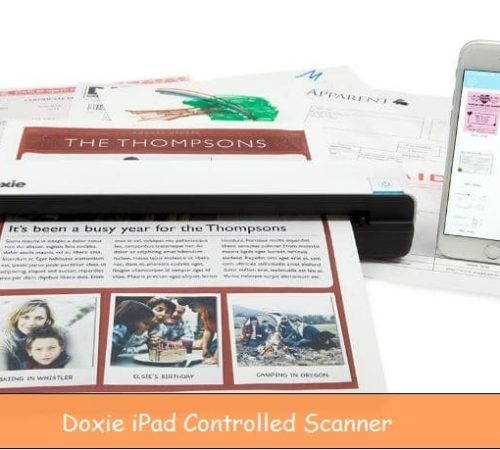 iPad controlled WiFi scanner also for iPhone