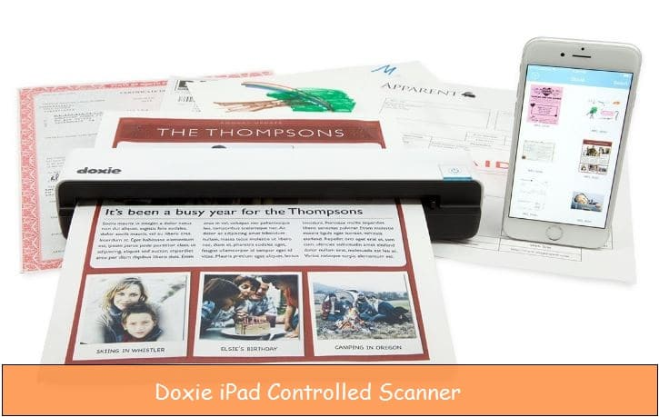 Best iPhone, iPad controlled WiFi scanner: Scan document remotely