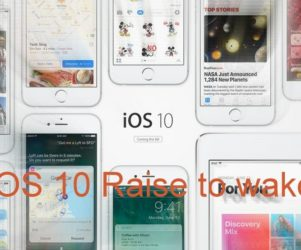 iOS 10 Raise to wake compatible devices list