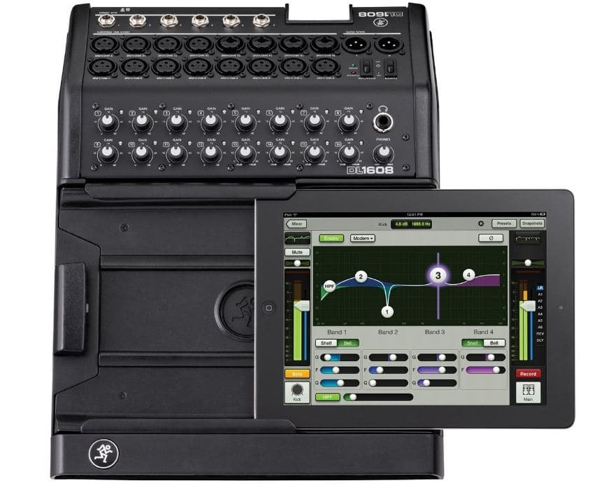 Best iPad controlled Mixer remotely by Mackie