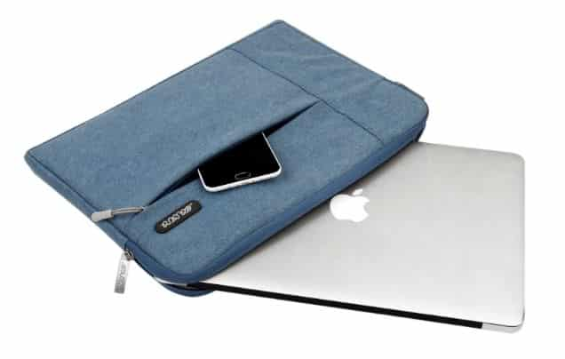 Best MacBook Pro Zipper case by Mosiso
