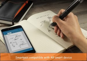 Smartpen for iPhone, iPad: Handwriting to digital copy