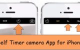Self timer camera iOS app official way