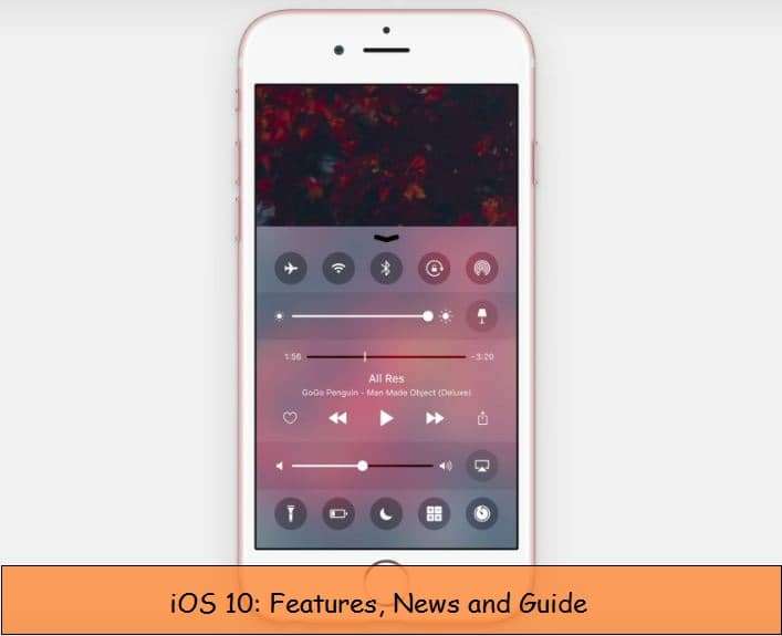 iOS 10 Features, New and Updates