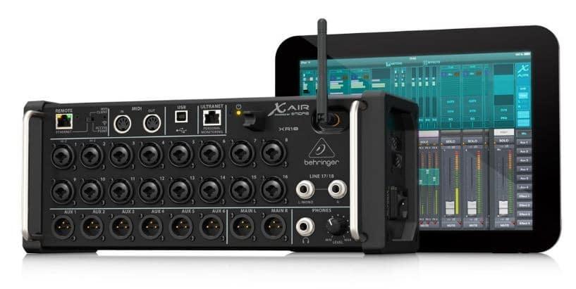 iPad compatible Sound mixer