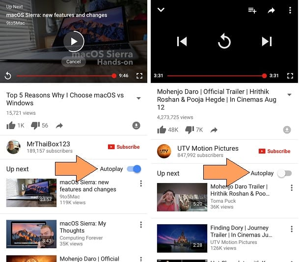 Disable Autoplay YouTube video on iPhone, iPad, iPod Touch
