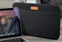 Extra Pocket MacBook Zipper case