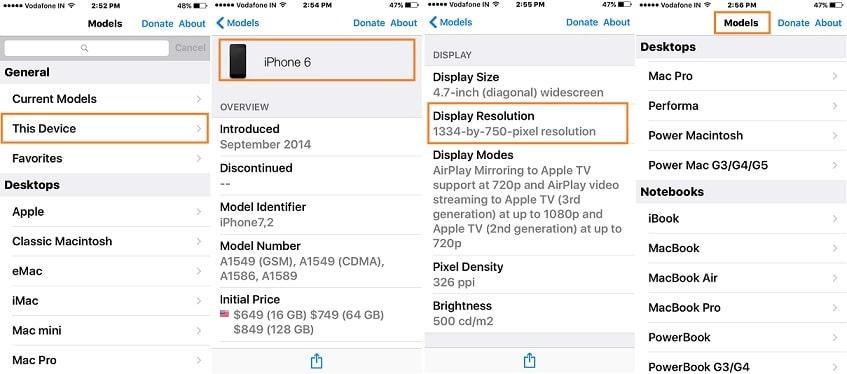 iPhone full details