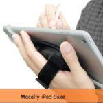iPad Hand Strap Case: Swivel mount Holder iPad Mini, Pro, Air