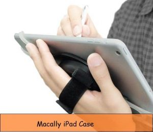 iPad Hand Strap Case: Swivel mount Holder iPad Mini, Pro, Air