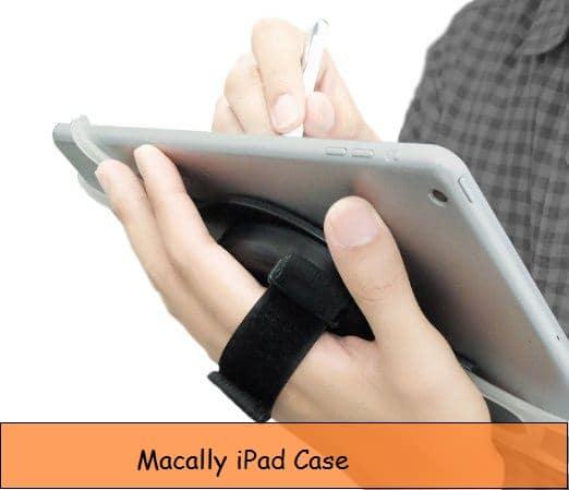 Двухфункциональный чехол для iPad с ремешком и подставкой