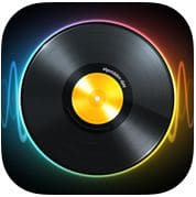 djay iOS app for sound mixer