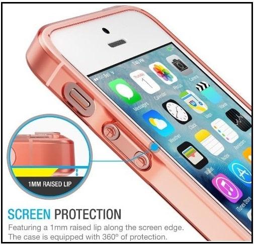 Aftermarket iPhone SE Bumper Case