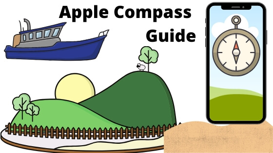 Apple Compass Guide know the GPS Coordinates, Elevation from iphone