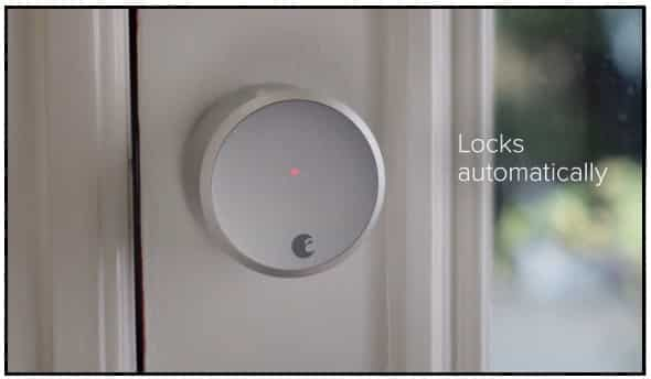 August Smart Lock- Apple homekit enabled device