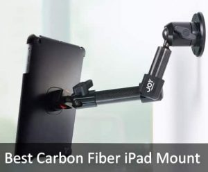 Best Carbon Fiber iPad Mount: Holder for iPad pro/ iPad Air, iPad Mini