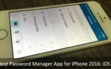 The Best Password Manager App for iPhone 2016