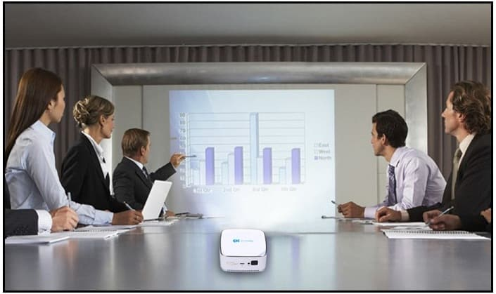 Good Review iPad pocket projector: for home, office, school