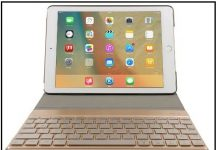 best iPad Pro 9.7'' Aluminum Keyboard case 2016