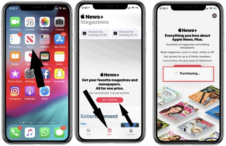 How to use News+ on iPhone and Setup stuck