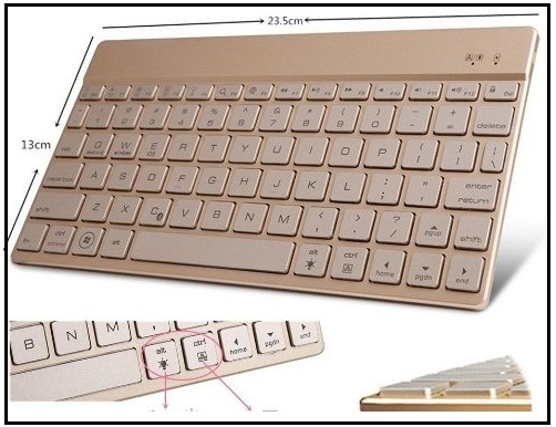 Stylist look iPad pro 9.7'' keyboard Case