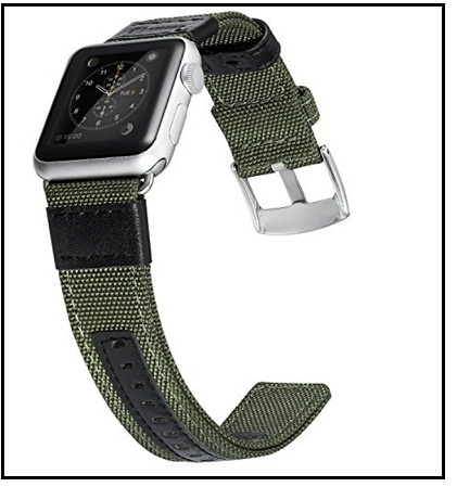 fashional craftsmanship Apple Watch Series 3 Premium Nylon Woven Band