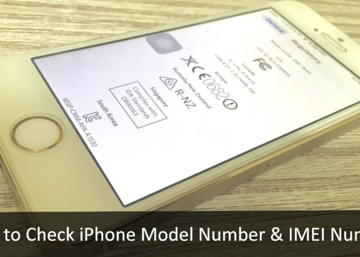 Alternate Ways to Check iPhone Model Number