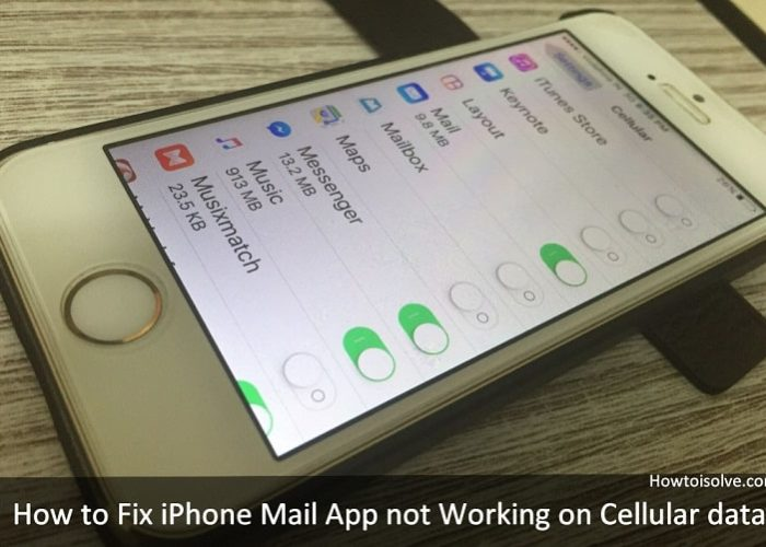 how to fix iPhone Mail App not Working iOS 9